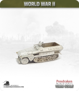 10mm World War II: German - Sd.Kfz 251/1 (Ausf A)