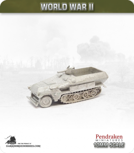 10mm World War II: German - Sd.Kfz 251/1 (Ausf B)