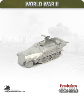 10mm World War II: German - Sd.Kfz 251/16 (Ausf D) Flammpanzerwagen