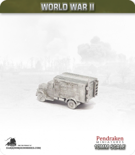 10mm World War II: German - Opel Blitz Radio Truck, Kfz.305/18