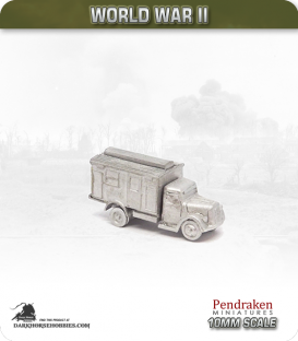 10mm World War II: German - Opel Blitz Ambulance