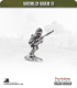 10mm World War II: Japanese - Infantry with rifle (60 angle)