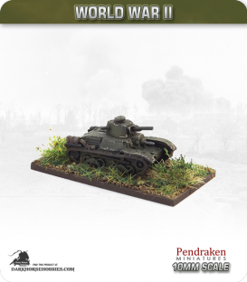 10mm World War II: Japanese - Type 95 Ha-Go Tank