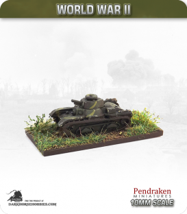 10mm World War II: Japanese - Type 4 Ke-Nu Tank