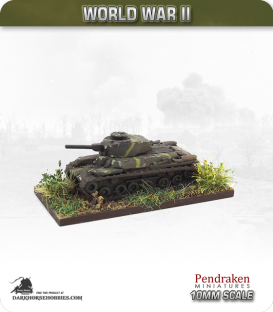 10mm World War II: Japanese - Type 97 Shinhoto Chi-Ha Tank