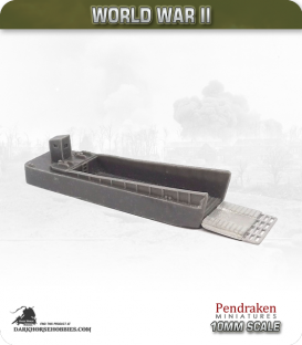 10mm World War II: Landing Craft Mechanised (LCM)