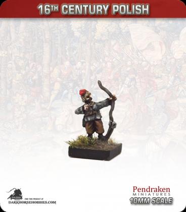 10mm 16th C. Polish: Peasant Foot Archer