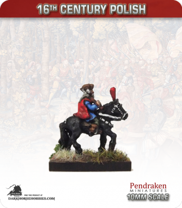 10mm 16th C. Polish: Mounted General