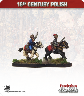 10mm 16th C. Polish: Mounted Cossack