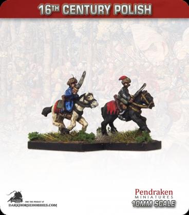 10mm 16th C. Polish: Mounted Cossack