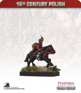 10mm 16th C. Polish: Mounted Dragoon