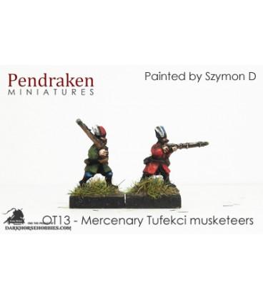 10mm 16th C. Ottoman Turk: Mercenary Tufekci Musketeers