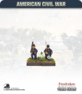 10mm American Civil War: Union Foot - Marching (right shoulder shift)