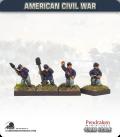 10mm American Civil War: Union Artillery Crew - Firing