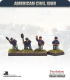 10mm American Civil War: Union Artillery Crew - Firing