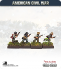 10mm American Civil War: Confederate Foot - Advancing (type 1)