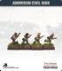 10mm American Civil War: Confederate Foot - Advancing (type 1)