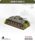 10mm World War II: Soviet - T-34/76D Tank (late-war, hexagonal turret)