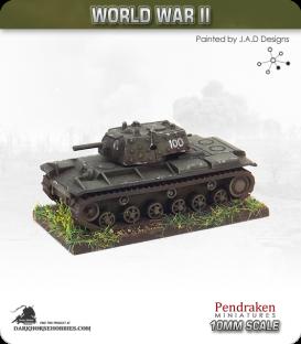10mm World War II: Soviet - KV-1E Heavy Tank