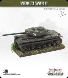 10mm World War II: Soviet - KV-85 Heavy Tank