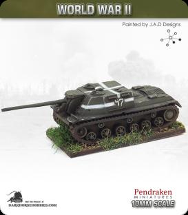 10mm World War II: Soviet - ISU-122 SPG