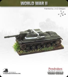 10mm World War II: Soviet - ISU-152 SPG
