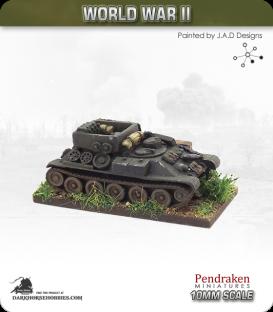 10mm World War II: Soviet - TT-34 Engineer tank