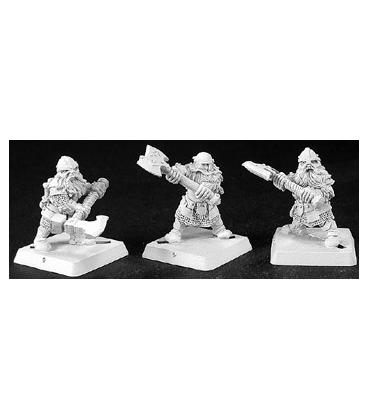 Warlord: Dwarves - Dwarf Swiftaxes, Dwarf Grunt (9-pack) (unpainted)