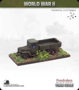 10mm World War II: Soviet - 2.5-ton Truck