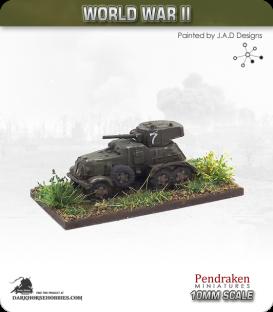 10mm World War II: Soviet - BA-6 Armoured Car