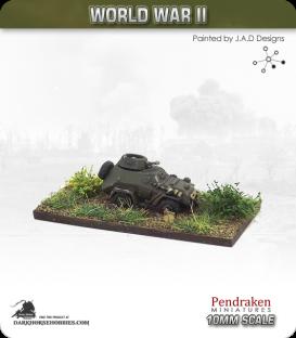 10mm World War II: Soviet - BA-64 Armoured Car