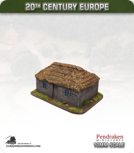 World at War (10mm): Eastern Front - Thatched House (type 1)