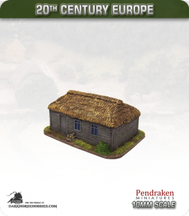 World at War (10mm): Eastern Front - Thatched House (type 2)