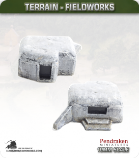 Terrain Fieldworks (10mm): Heavy Machine Gun Bunker