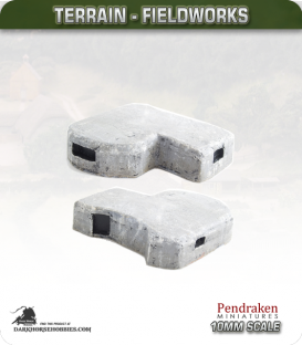 Terrain Fieldworks (10mm): Command Bunker