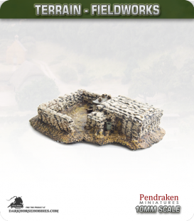 Terrain Fieldworks (10mm): Sandbagged Bunker