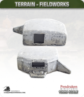 Terrain Fieldworks (10mm): Anti-Tank Bunker