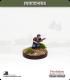 10mm Indochina: Tu Ve in Bareheaded Scarf with Rifle - Walking