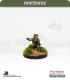 10mm Indochina: Chu Luc in Summer Uniform and Helmet with MAT 49 SMG - Throwing Grenade