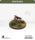 10mm Indochina: Porters with Box Slung Between (team of two)