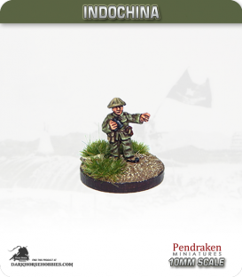 10mm Indochina: Senior Officer with Binoculars - Pointing