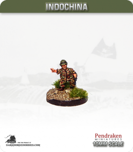 10mm Indochina: French Para Officer