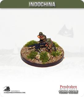 10mm Indochina: French Para 57mm M18 RCL Team