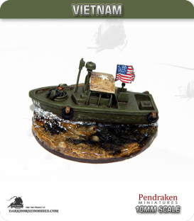10mm Vietnam: US Marine Mk2 Patrol Boat R
