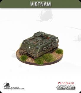 10mm Vietnam: M125 Mortar Carrier (81mm)