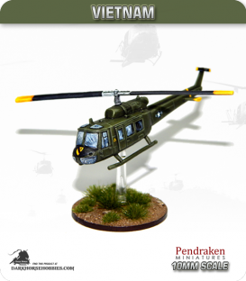 10mm Vietnam: UH-1 Huey Transport Helicopter