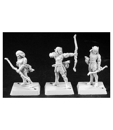 Warlord: Elves - Vale Archers, Elven Adept (9-pack) (unpainted)