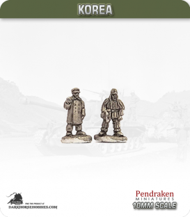 10mm Korea: Chinese - Officers (winter)