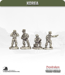 10mm Korea: North Korean - Artillery Crew