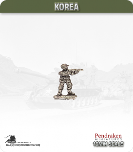 10mm Korea: South Korean - Infantry with M1 Carbine - Standing / Firing